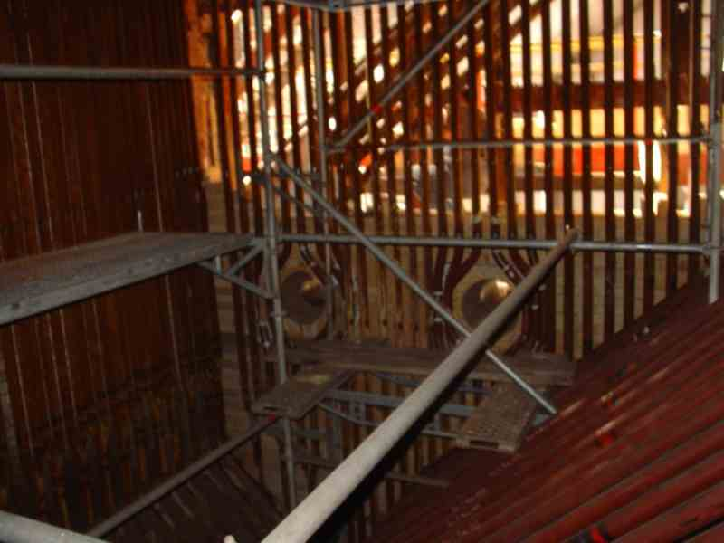 Reparatur, Bau und Umbau des Kessels OR-32 für Produktionszwecke ...